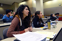 Students at Presentation on the Law School's Summer Study Abroad Program